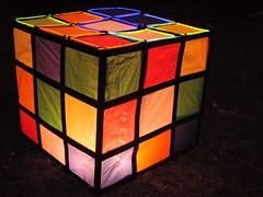 rubix cube @ Illuminares