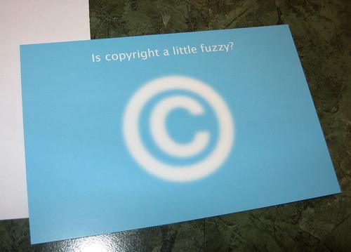 fuzzy copyright