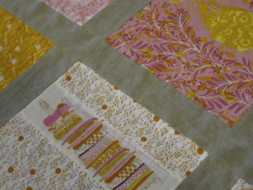 Fairytale Piecing up close