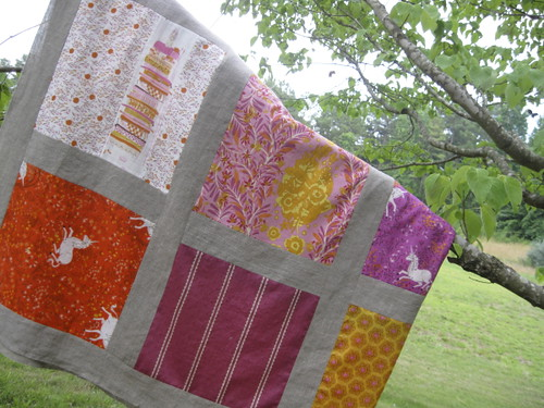 Fairytale Quilt Folded on a Branch