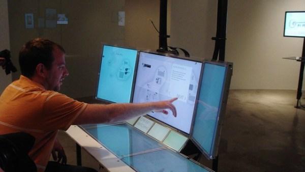 Microsoft Montage video multi-touch adaptive PC