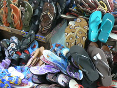 Flip Flops on Sale_Plaza Miranda,Quiapo,Manila