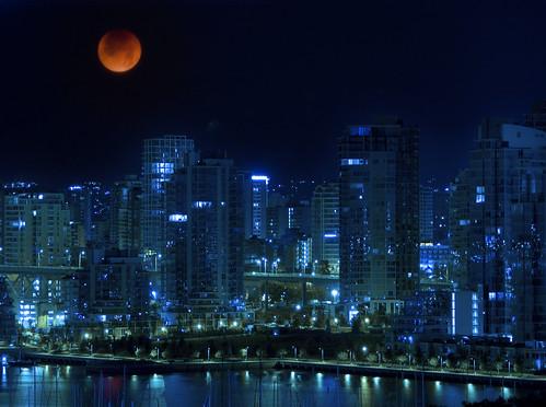 Vancouver Lunar Eclipse