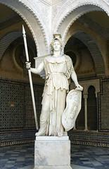 """Pallas """"guerrera"""". Patio de la Casa ..."""