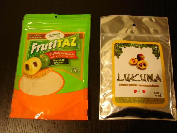 Powdered lucuma