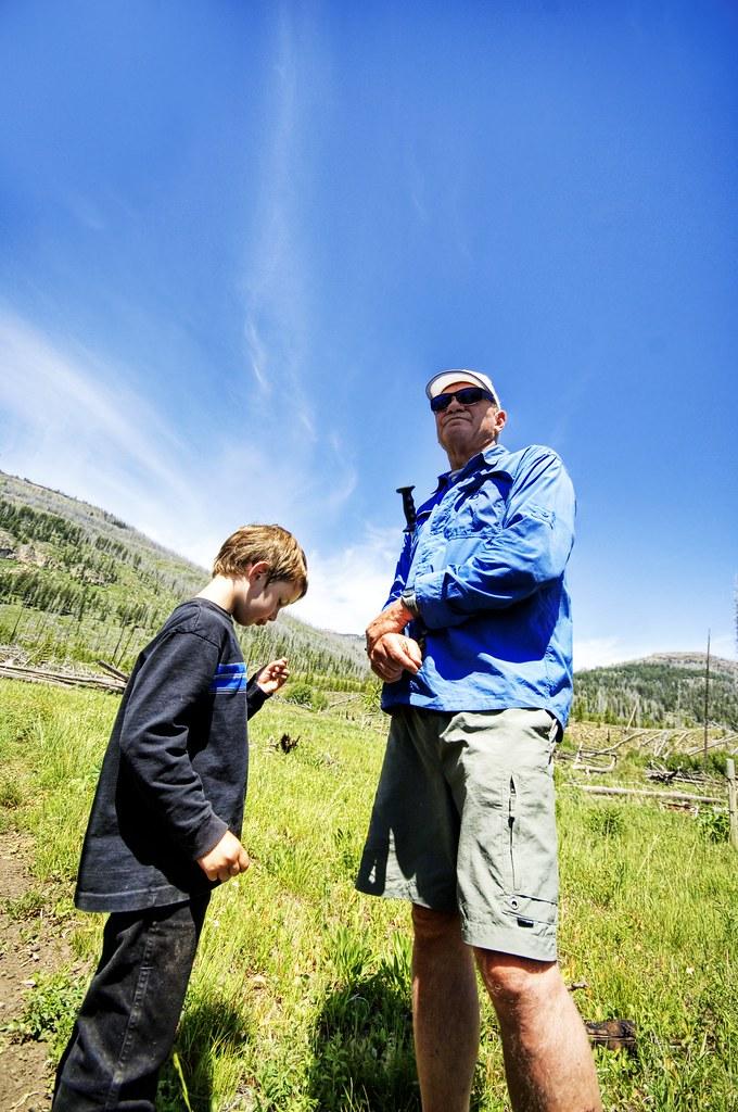 A Boy and his Teacher
