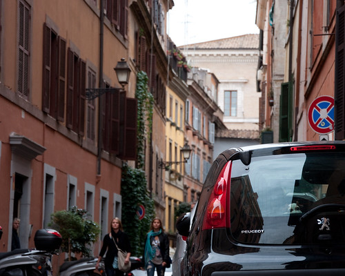 Small streets of Trastevere