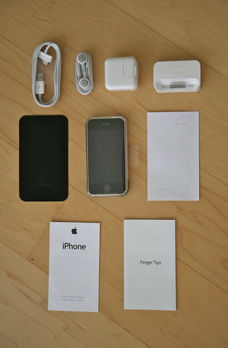 Contents of iPhone Box