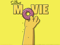 A rosca do Homer - Clique para baixar este wallpaper