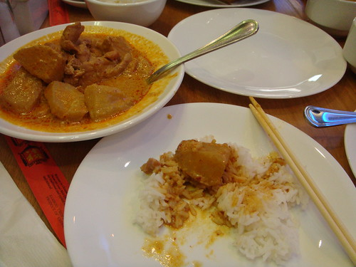 Tong Hai Tung - Chicken Curry with Rice