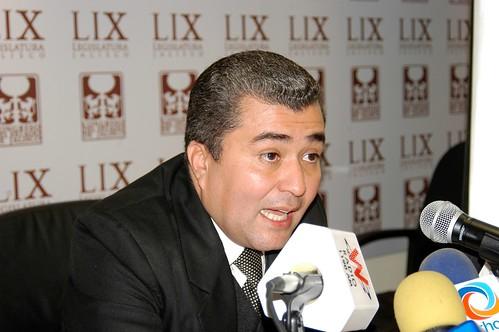 Rueda de Prensa Dip.  Carlos Briseño