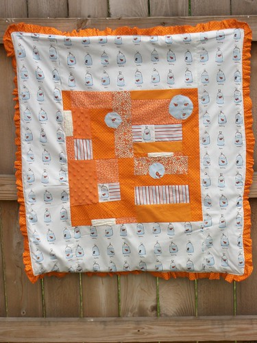 Heather Ross Baby Quilt