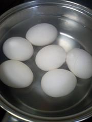 牛スジ煮込み ゆで卵