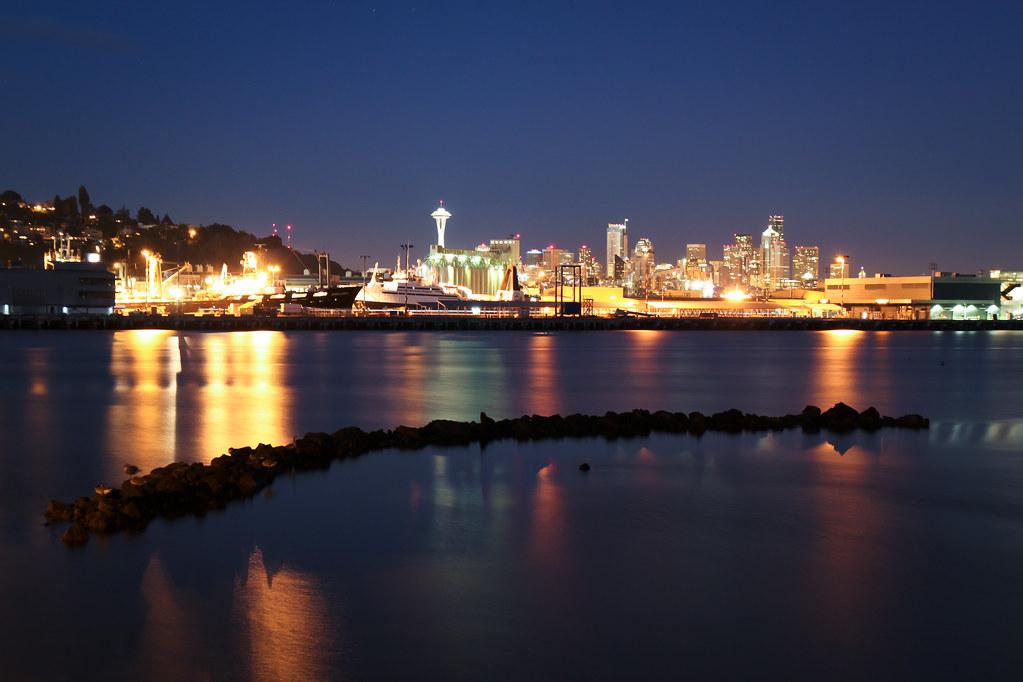 Seattle from Elliott Bay Marina