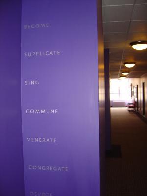 Become, Supplicate, Sing, Commune, Venerate, Congregate