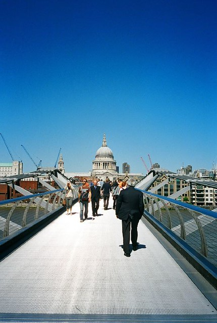Millenium Bridge - From Tate Modern, London