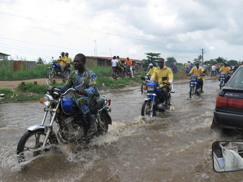 Flooding in Cotonou