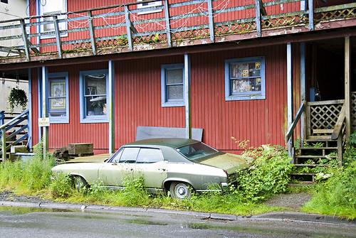house, Ketchikan Alaska