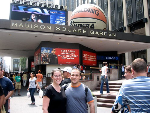 me and joe at madison square garden 2 crop