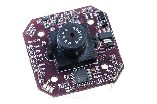 MT9V032 camera board - with lens