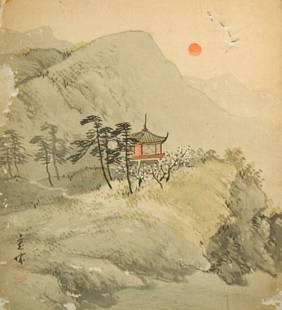 25 ancient japanese landscape paintings pictures and