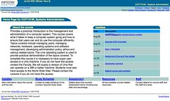 Webfuse default course site home page