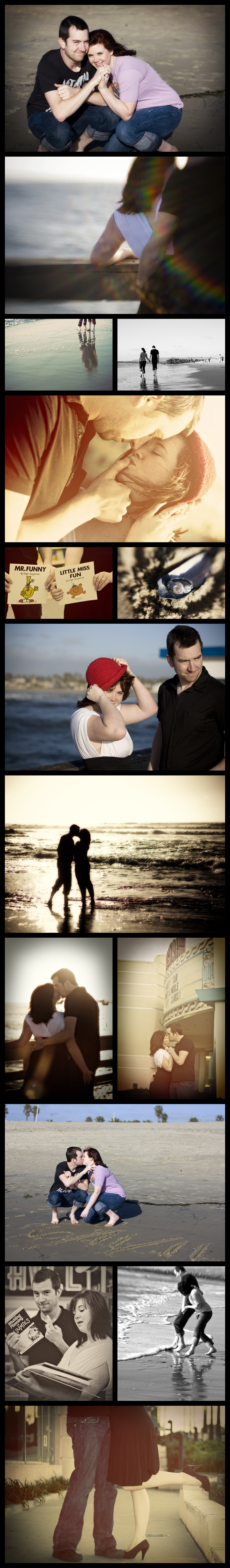 Engagement Portraits in San Diego... from Ocean Beach to Point Loma, Abby and James show their love