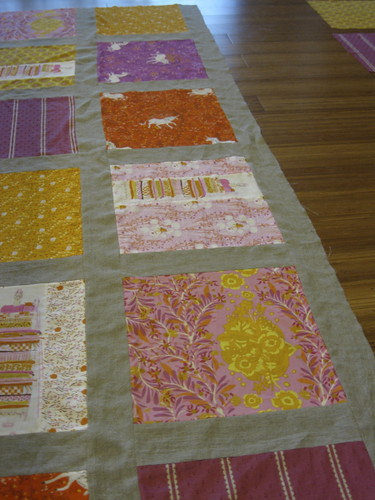 Fairytale Piecing in progress