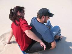 Daia & Sid - Sandboarding