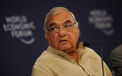 Bhupinder Singh Hooda - India Economic Summit 2010