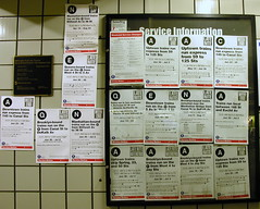 Service interruptions at Times Square station
