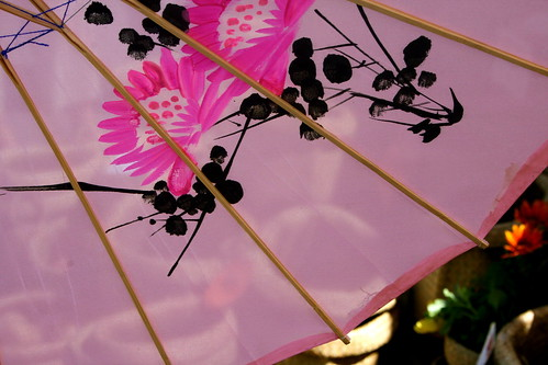 Peonies on a Parasol.