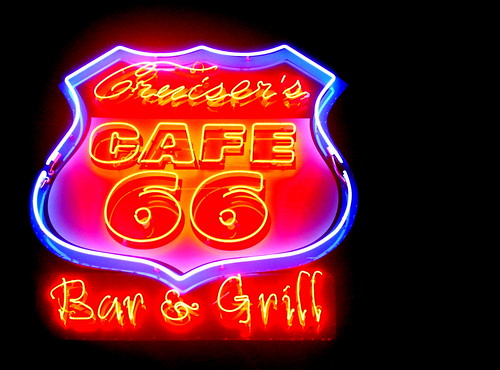 Cruiser's Cafe 66 in Williams, AZ