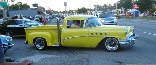 The Trucks Of The Woodward Dream Cruise by jalopnik.