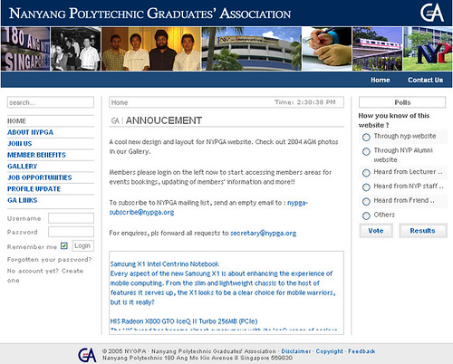 NYPGA Web Portal