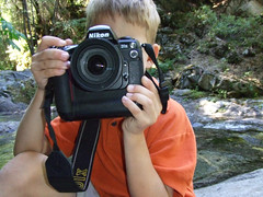 Caden at Brandy Creek Falls