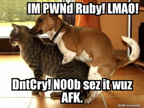 I pwnd Ruby