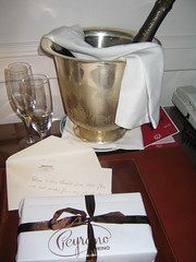 Gift from the Marriott Grand Hotel Flora, Rome