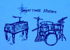 Sugar Free Allstars T-Shirt Design