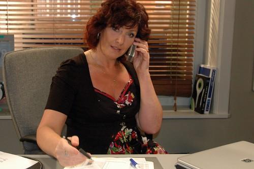De nieuwe secretaresse