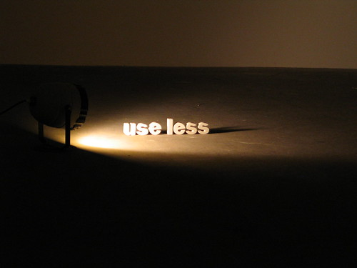 'Use less' by Gareth Brew