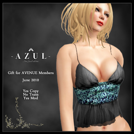 Couture AVENUE :: AZUL Gift