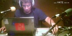 Vate en vivo en radio Contrabanda