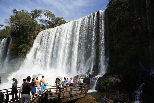 Bosseti waterval Argentijnse kant