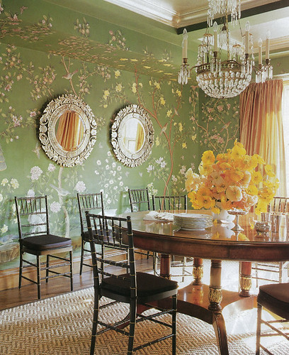 Green dining room copy