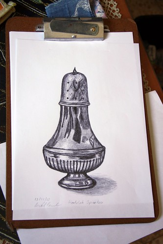 Havdalah Spicebox Drawing