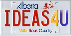 ideas 4 U - personalized license plate of Chie...