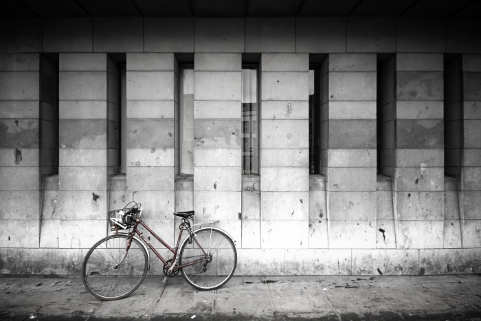 The Bike at the Library