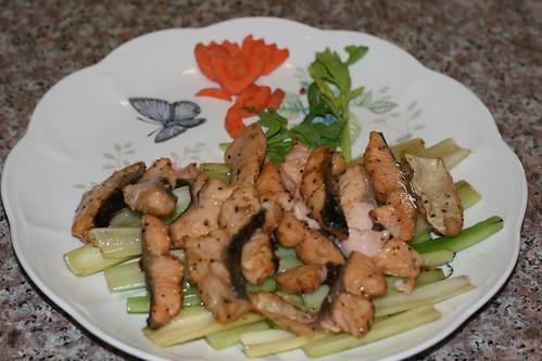 乾燒三文魚片