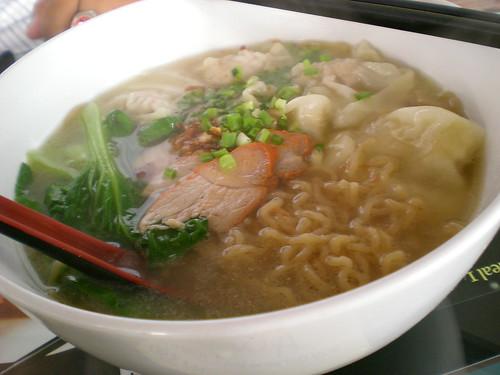 Noodle House, Sibu - wanton QQ noodles soup